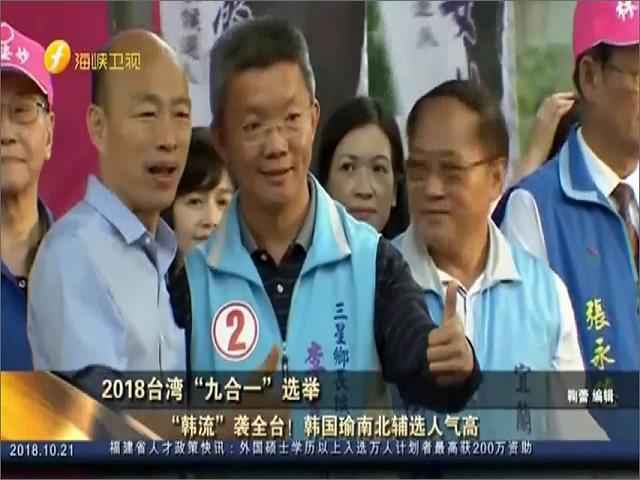 """2018台湾""""九合一""""选举图片"""
