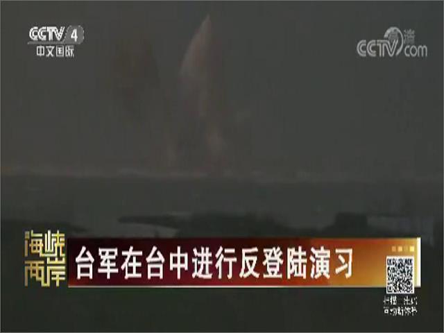 台军在台中进行反登陆演习图片