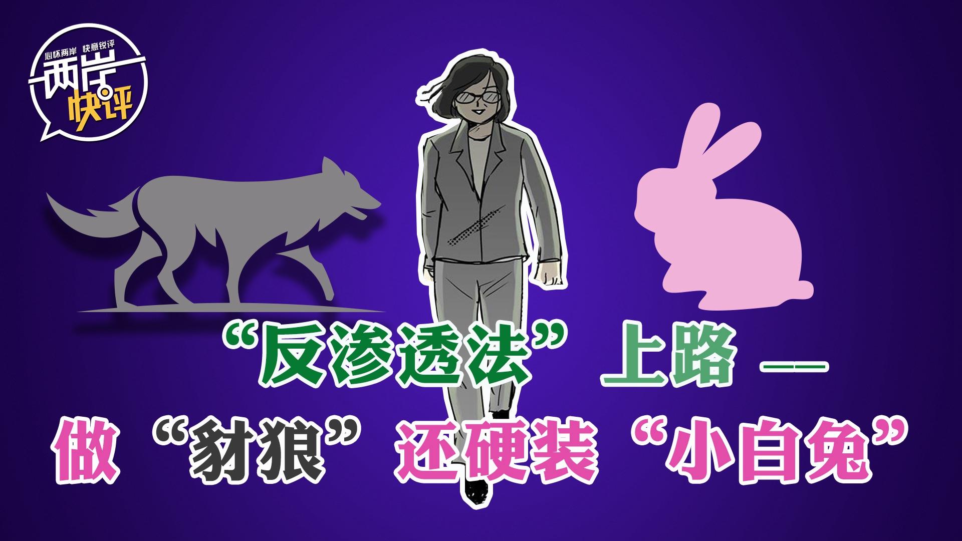"""""""反渗透法""""上路:蔡英文鬼扯,台湾民众自救"""