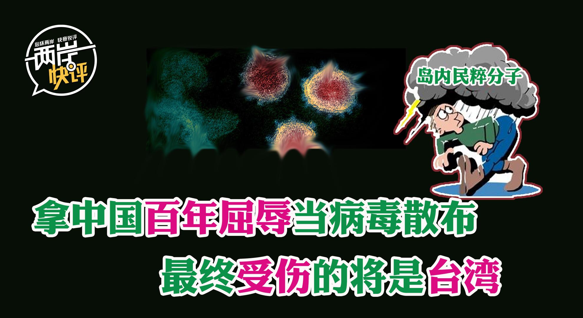 岛内民粹分子拿中国百年屈辱当病毒散布 最终受伤的将是台湾图片
