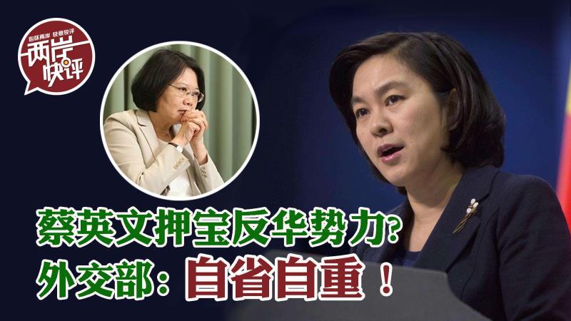 豪橫?蔡英文捐1000萬片口罩 押寶反華勢力 華春瑩送她四個字圖片