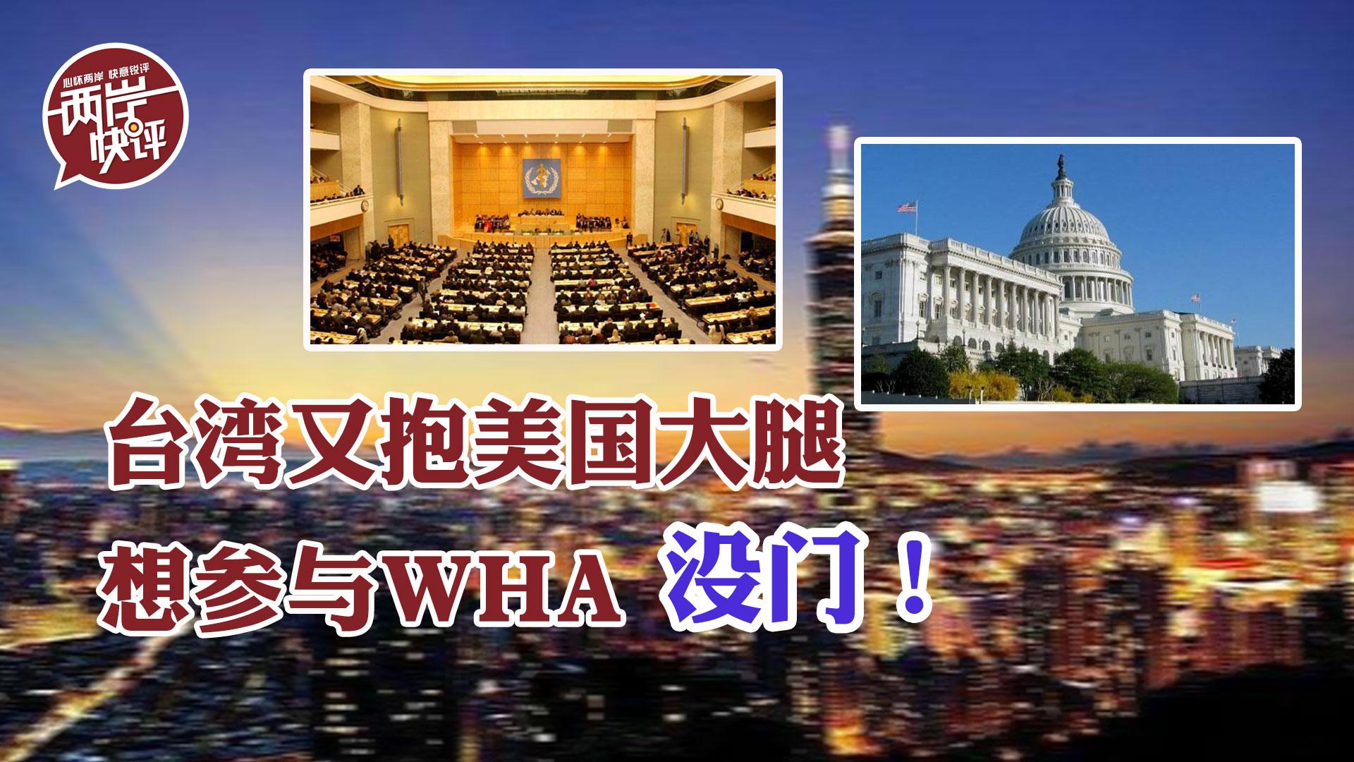 台湾想参与WHA,必须在一中原则下处理,舍此别无他路图片