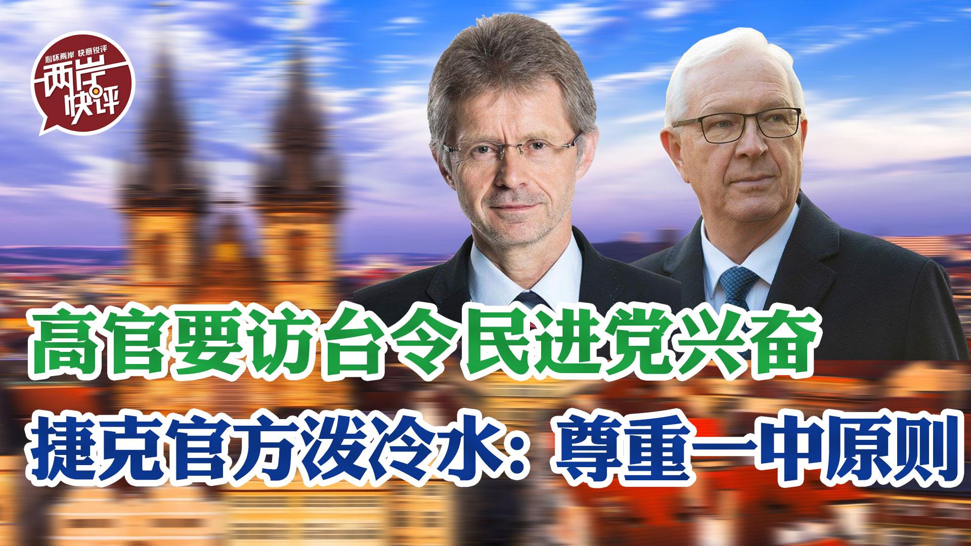 """民进党还做""""台独""""梦?捷克官方泼冷水:尊重一中原则图片"""