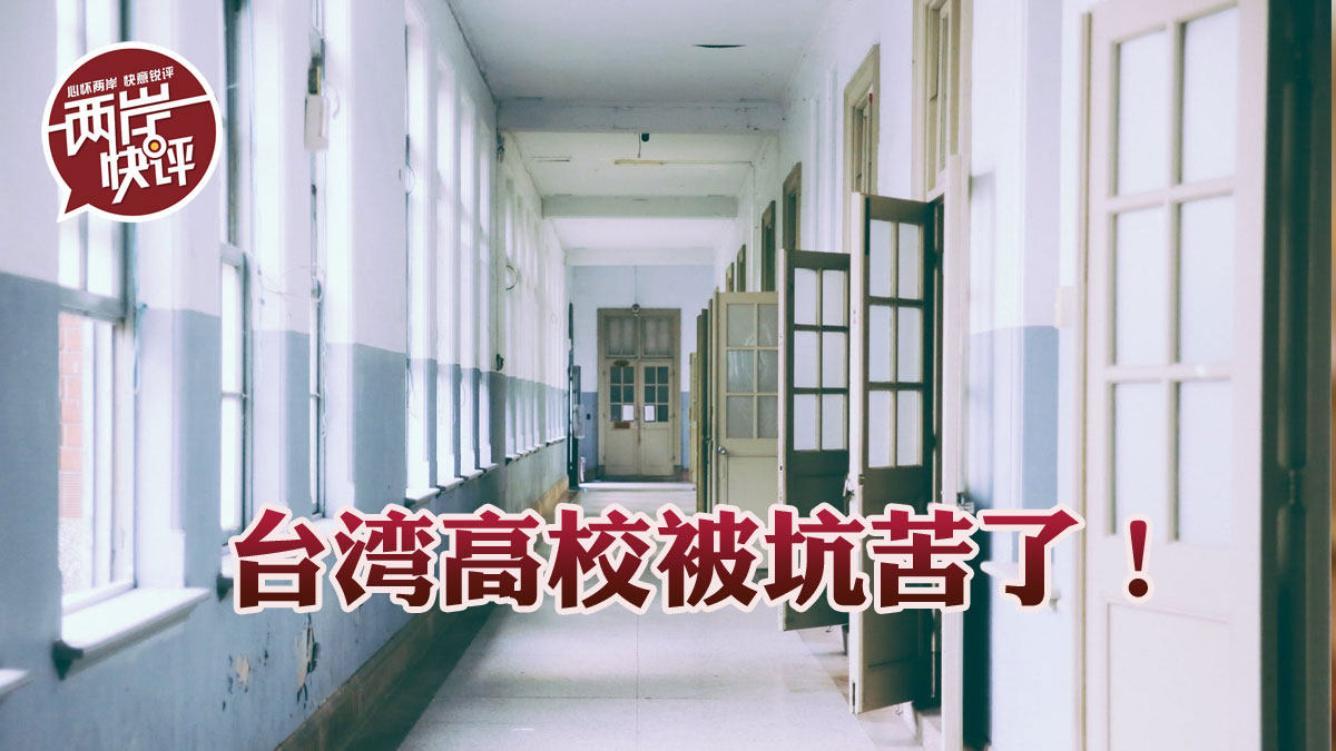 因為這道禁令,臺灣高校要恨死民進黨了!