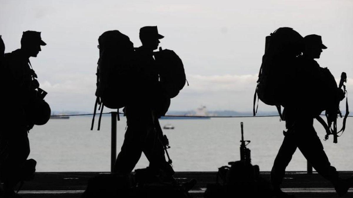 """台海局势有多紧张?台军事专家发布""""平民生存手册""""图片"""