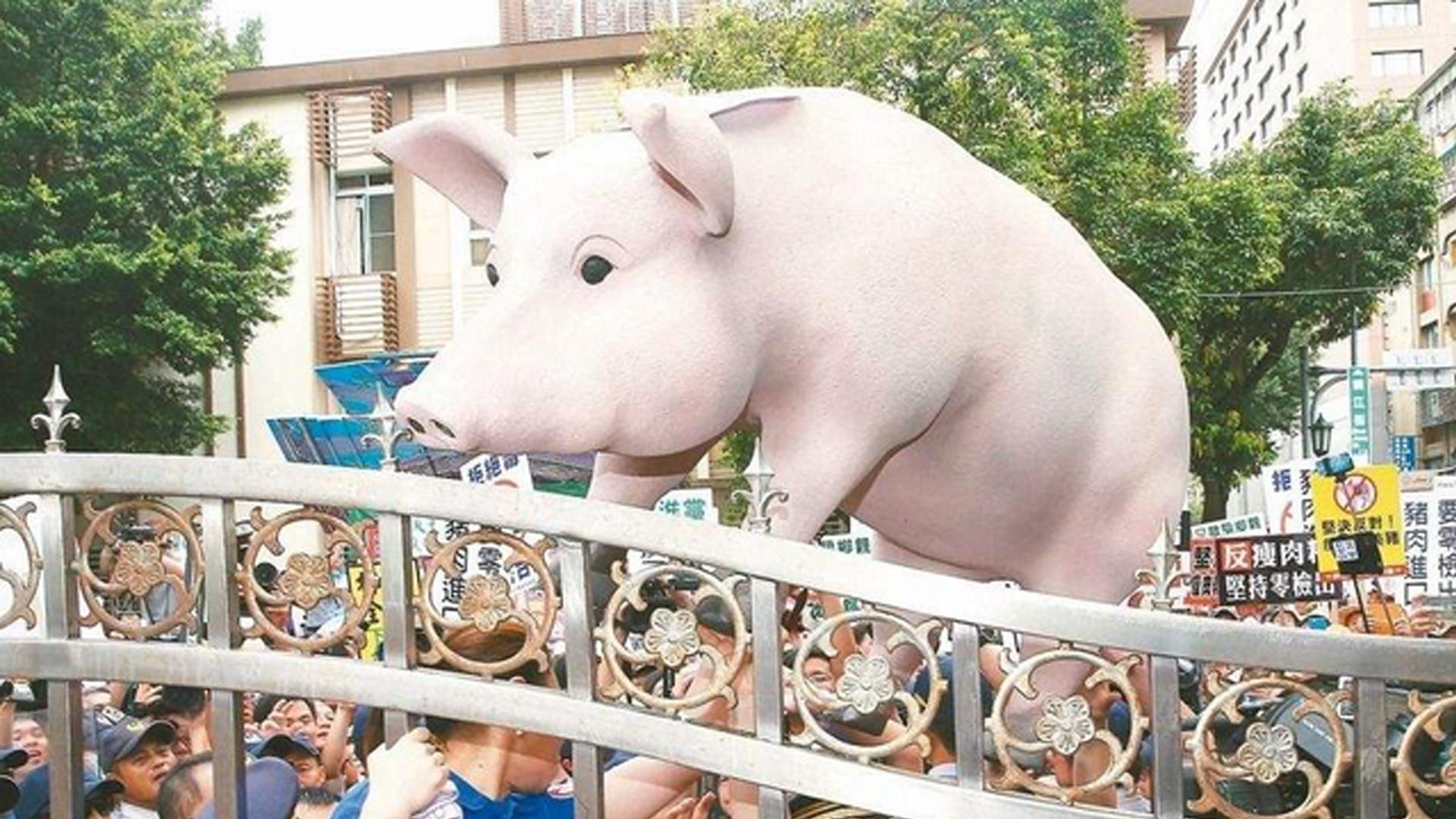 出来混迟早要还,民进党当局执意开放美猪牛必将反噬自身图片