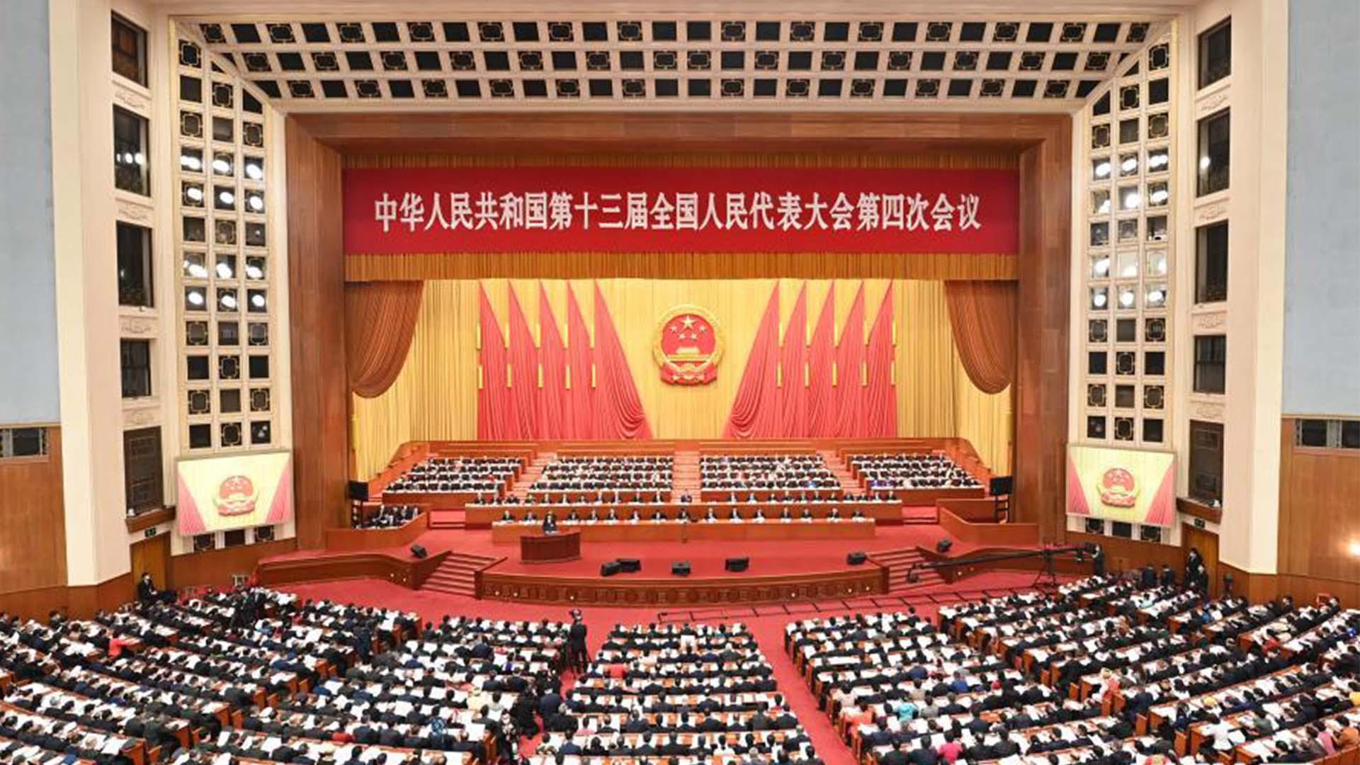 """李克強:堅持一中原則,高度警惕和堅決遏制""""臺獨""""分裂活動圖片"""