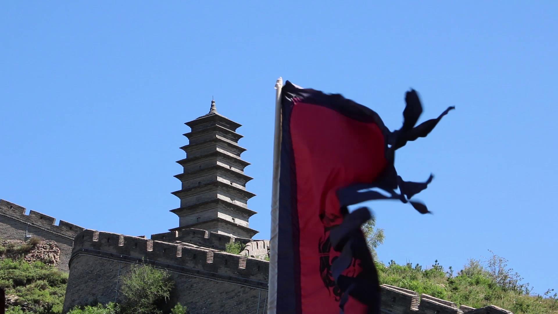 台湾青年参观 山西雁门关图片