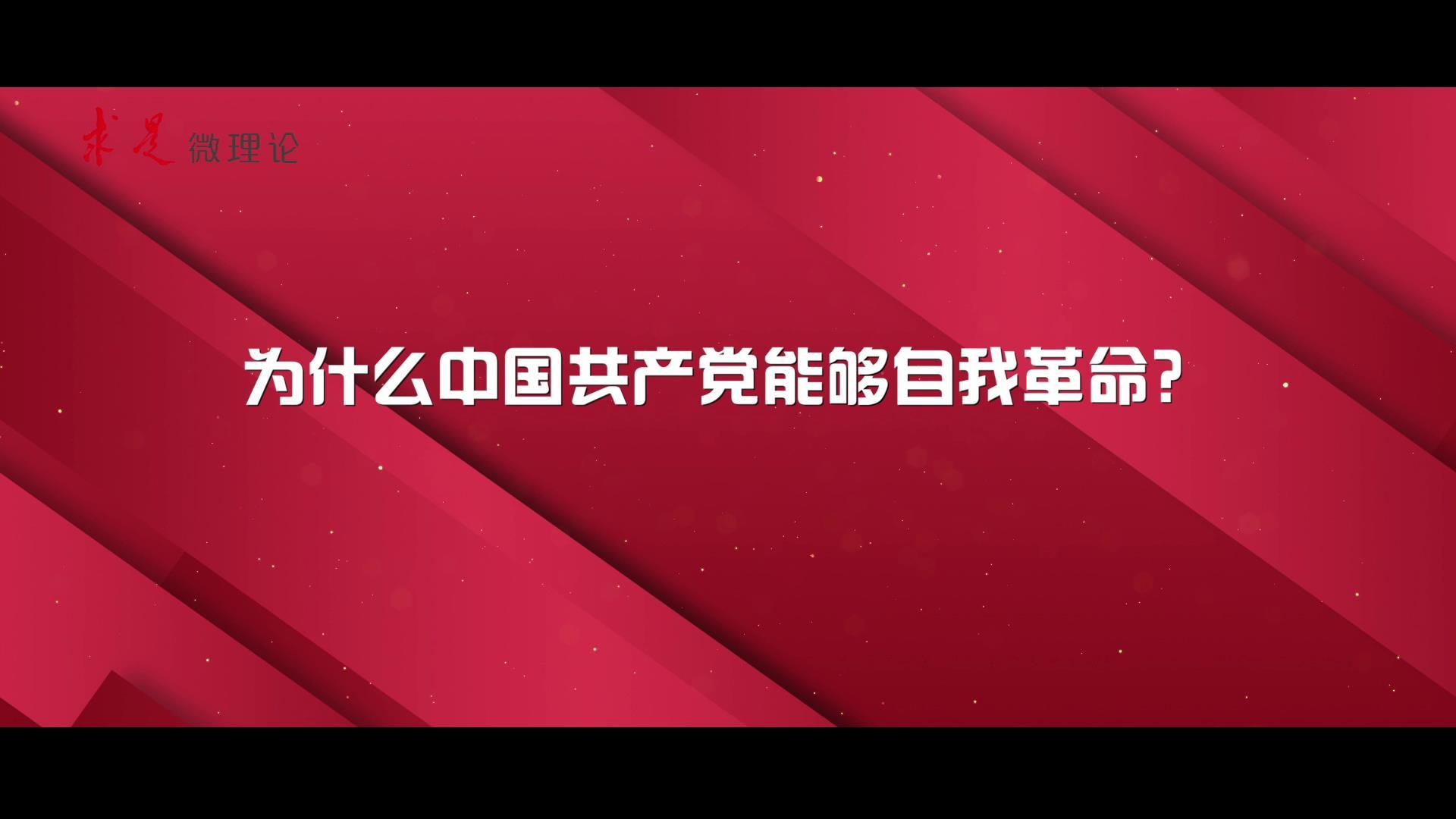 为什么中国共产党能够自我革命�图片