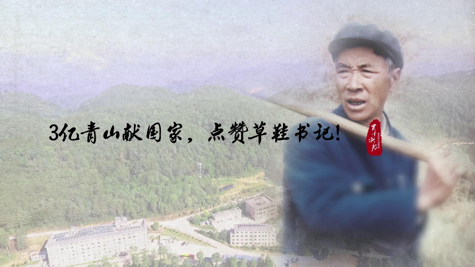 【奋进的中国精神】3亿青山献国家,点赞草鞋书记图片