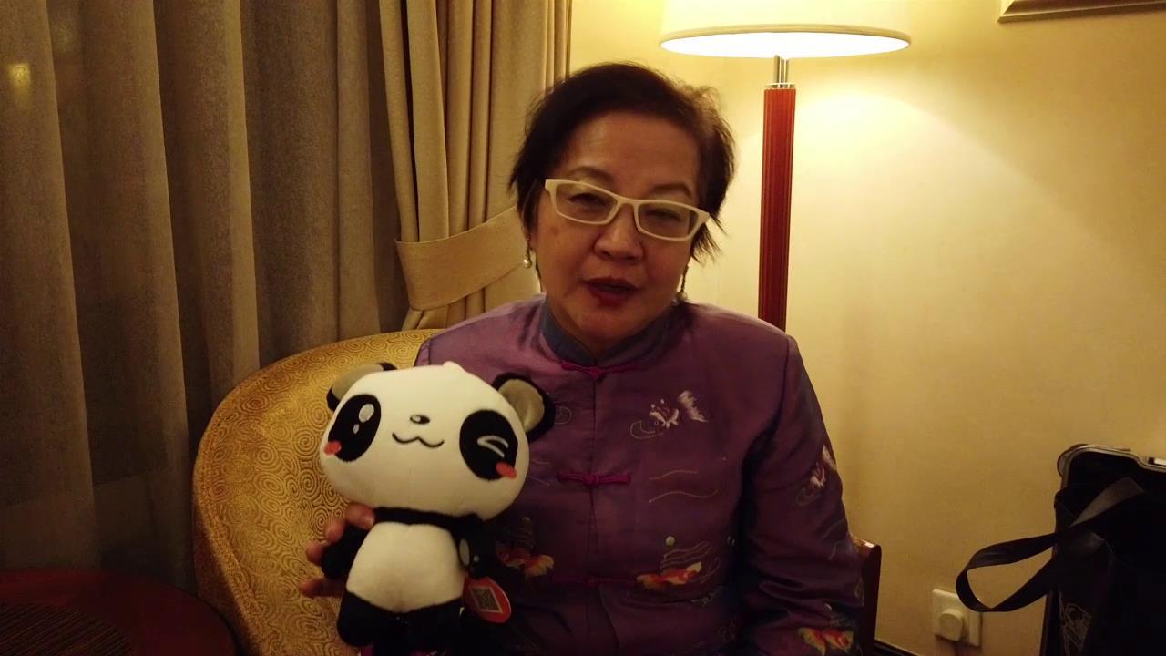 """台湾艺术梦想家文创协会秘书长""""点赞""""大陆发展图片"""