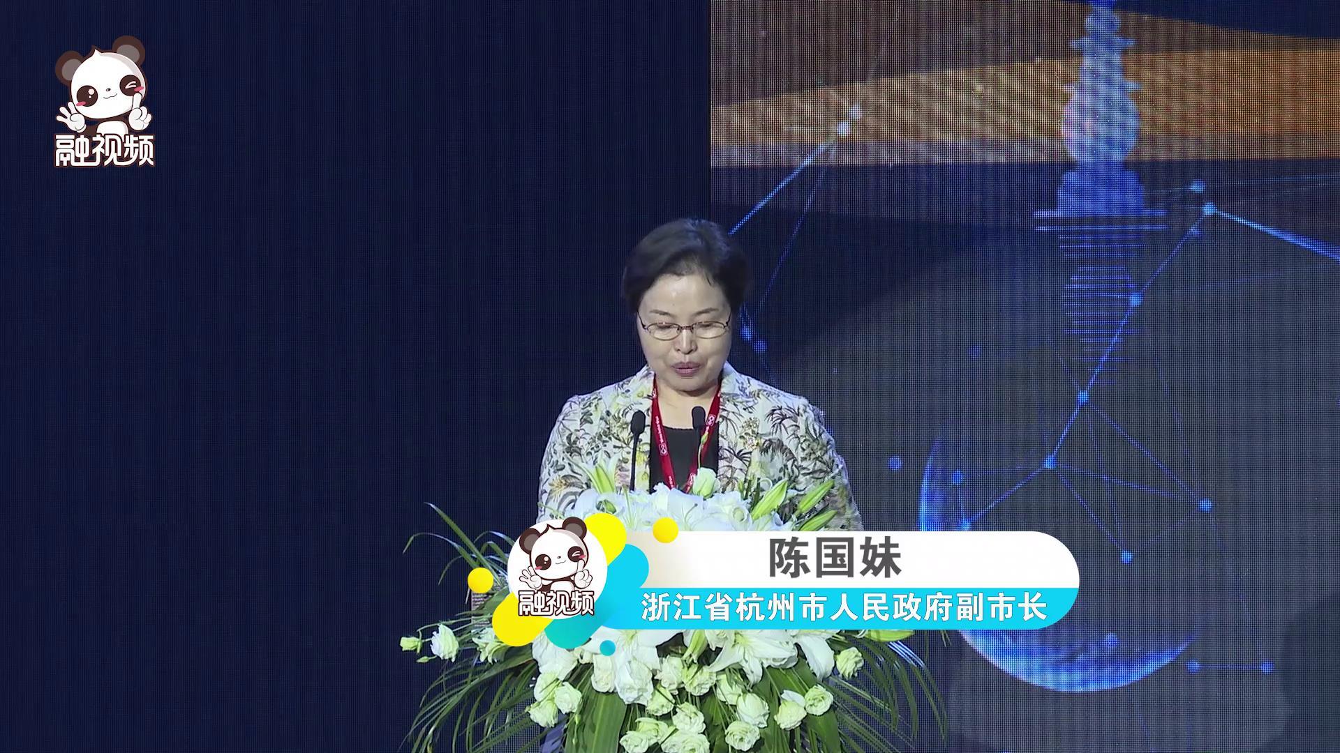 陈国妹副市长在两岸电商协作高峰论坛上的讲话图片