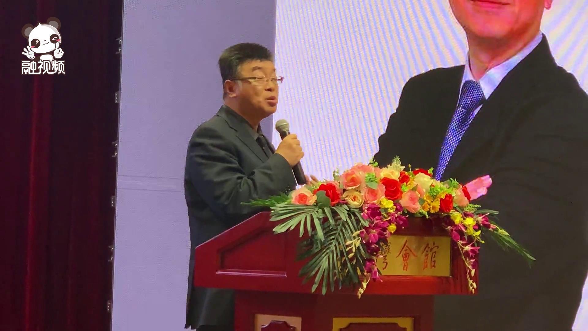 臺灣著名政論家邱毅:希望兩 岸媒體人讓最誠實的聲音傳遞到兩岸圖片