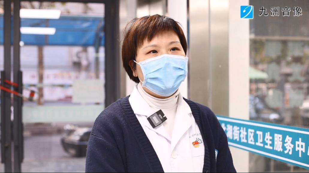 武漢市江漢區北湖街社區衛生服務中心辦公室主任肖欲:圖片
