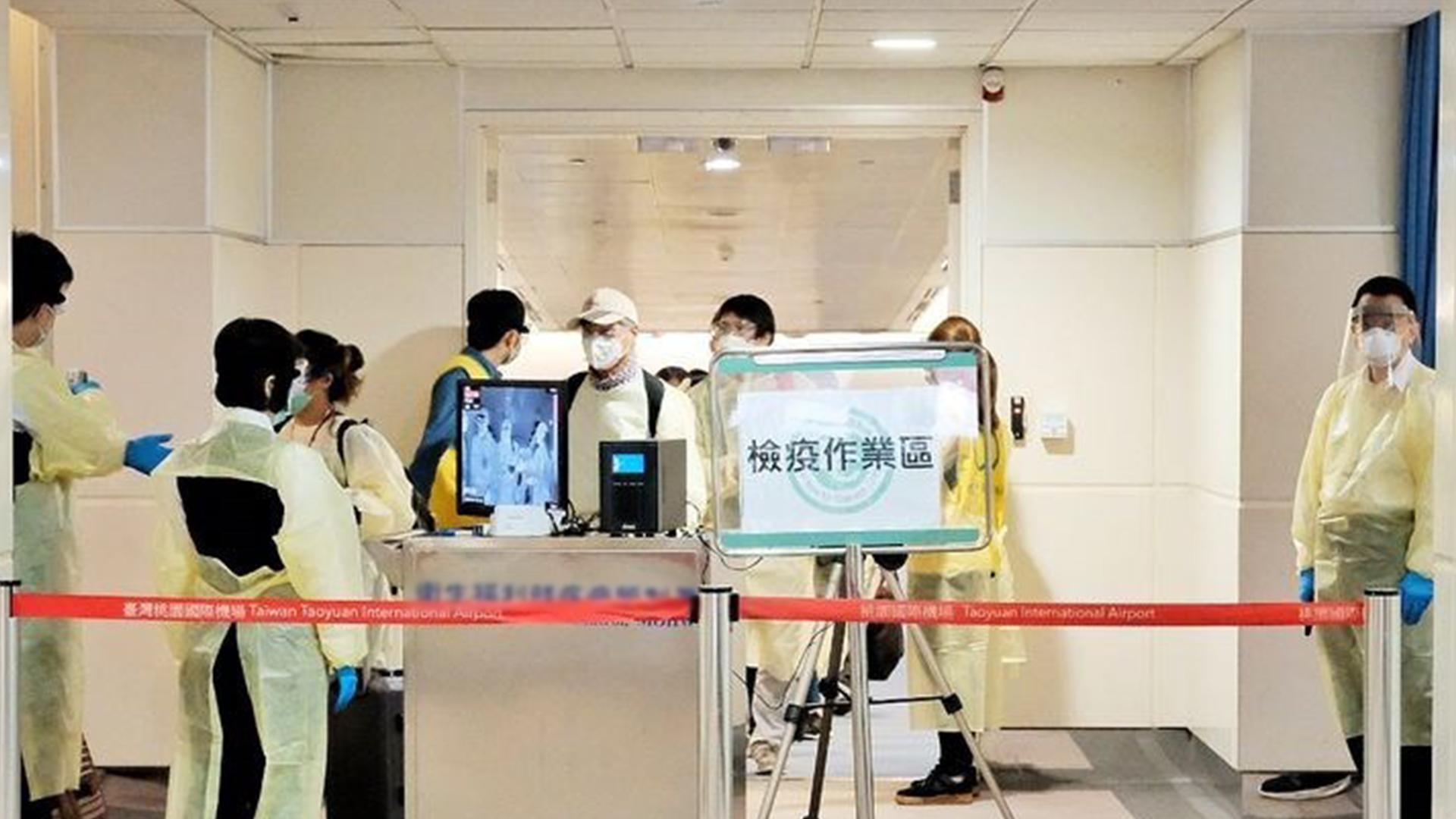 臺灣新增8例境外輸入確診病例 3例來自英國返臺班機圖片