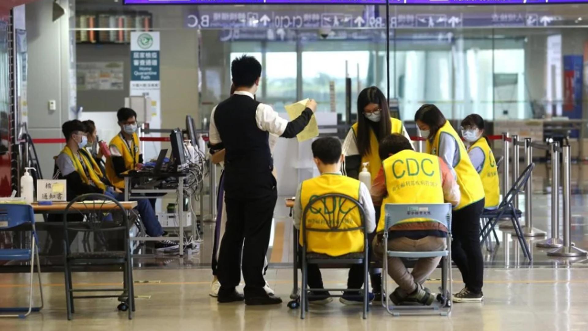 台新增5例确诊:搭同一航班入境 自费采检确诊图片