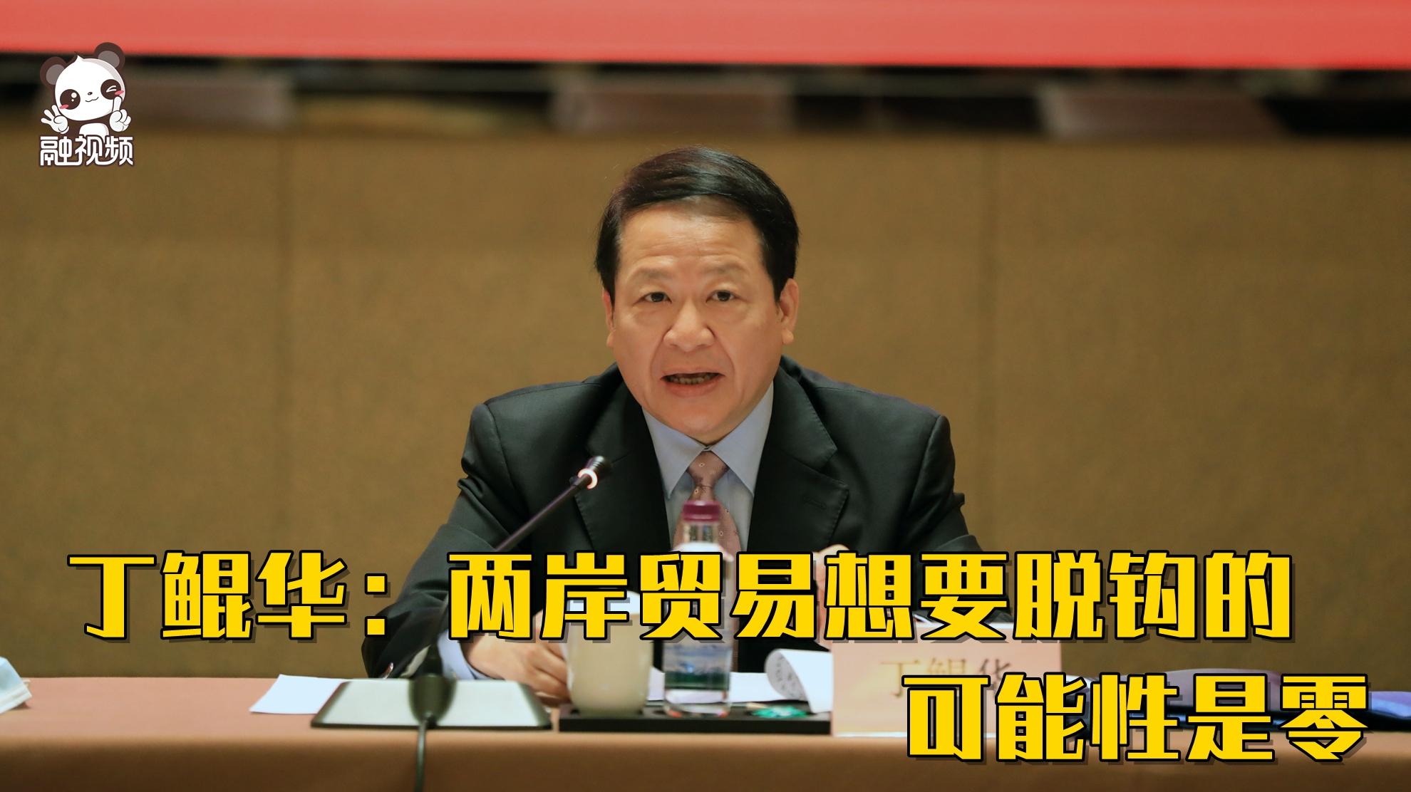 丁鲲华:两岸贸易想要脱钩的可能性是零图片