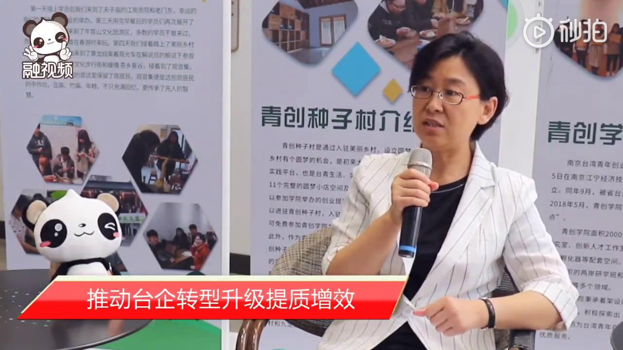 江苏省台办主任练月琴:推动台企转型升级提质增效图片